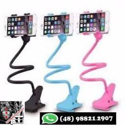 Pescoço de Ganso Suporte para Celular ou Tablet
