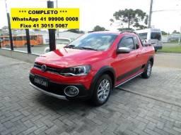VW Saveiro Cross 1.6 MSI Flex 2015 Completa - 2015