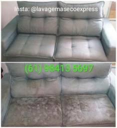 Lavagem a Seco e Impermeabilização a domicilio, Sofa, carpete, cadeira, carro colchao DF