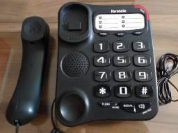Telefone Fixo Com Fio Ibratele Big Button RT
