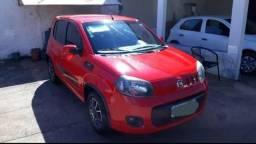 Fiat uno vermelho - 2017