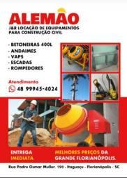 Título do anúncio: ALEMÃO ALUGUEL E LOCAÇÕES DE EQUIPAMENTOS