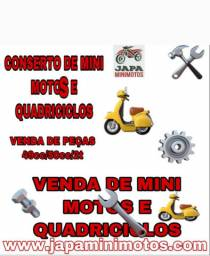 CONSERTO DE MINI MOTOS E QUADRICICLOS JAPA MINI MOTOS