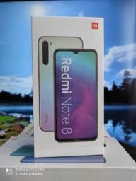 Natal Xiaomi! Redmi Note 8 ... NOVO LACRADO COM GARANTIA e entrega hj