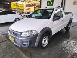 Fiat Strada 1.4  Hard Work Flex 2020 Completa 23 km ( Financiamos )