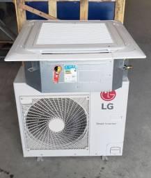 Ar condicionado cassete lg 31000 q/f semi novo