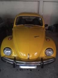 Fusca 74 amarelo