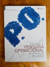 LIVRO INICIAÇÃO À PESQUISA OPERACIONAL NO AMBIENTE DE GESTÃO
