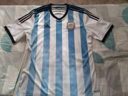 Camisa Argentina 2014 Tam. GG