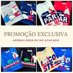 Camisetas importadas no atacado promoção