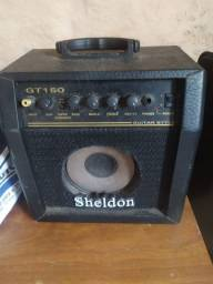 Amplificador Sheldon gt150 pequeno defeito