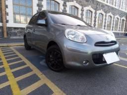 Nissan March 2014 , 1.6 flex , Completo , Ipva PG.