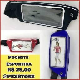 Título do anúncio: Pochete esportiva para Smartphone. Entrega Grátis em Fortaleza