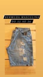 Bermudas masculinas tamanhos especiais 50 ao 56