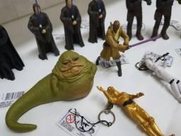 Coleção bonecos Star Wars - 22 bonecos chaveiros