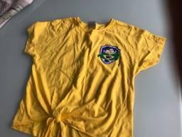 Camiseta do Brasil turma da Mônica  TAM 14
