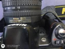 Vendo câmera Nikon D80 usada