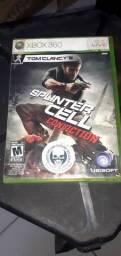 Jogo de Xbox 360 splinter cell conviction