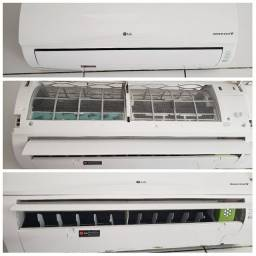 Ar condicionado inverter LG 11500 btus - Problema na serpentina do condensador