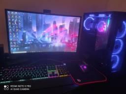 PC Gamer completo tela curva 24' GTX 1650 Asus Tuf gaming SSD m2 1tb core i5 9400f
