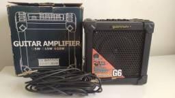 Título do anúncio: Amplificador Giannini Cubo G6 10W + Cabo + adapatador J2