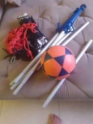 Título do anúncio: Kit Redinha de Futvolei + Bola