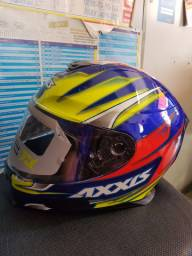 Capacete axxys eagle speed NOVO