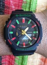 Novos: Relógio G Shock TMJ series Ga2100 com Caixa