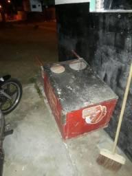 Carrinho de hot dog+panela eletrica