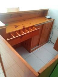Mobília para loja de açaí e lanches