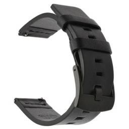 Título do anúncio: Pulseira 22mm Couro Premium Flexível Resistente para Relógios Masculino