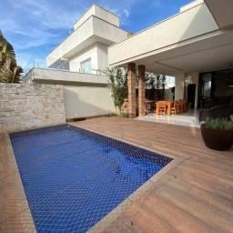 Casa de condomínio para venda possui 208 metros quadrados com 4 quartos