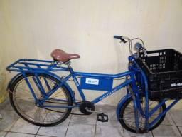 Bicicleta de carga sem defeito