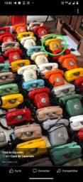 Telefones antigos de disco