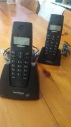 Título do anúncio: Telefone sem fio Intelbras com ramal