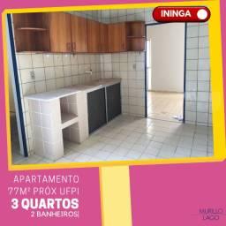 Apartamento venda Santa Marta próximo Ufpi 3 quartos bairro Ininga Teresina