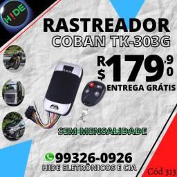 Rastreador veicular Tk-303g Coban (entrega grátis)<br><br>