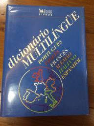 Dicionário multilíngue