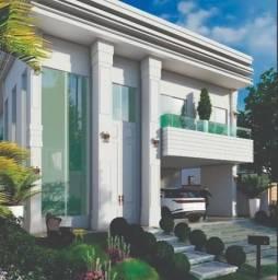 Mansão no Alphaville Fortaleza com 470m² de área construída Estilo Neoclássico R$ 4.200.00
