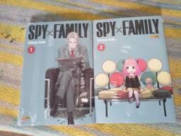 Spy x Family Vol.1 e 2 (Lacrados)