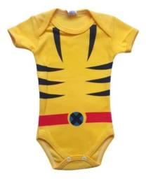 Body Temático Infantil - Wolverine