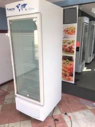 Oportunidade única: Freezer Expositor Fricon Branco Modelo: VCED565