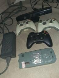 Xbox controle e Kinect 360