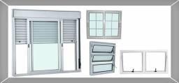 Consertos manutenção em portas e janelas em alumínio