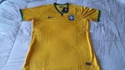 Camisa Seleção Brasileira 2014/15 Neymar Jr Tamanho XG
