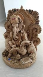 Estatueta Deus Ganesha 23cm nova