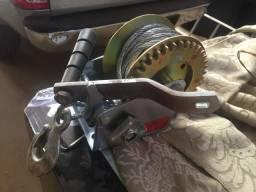 Guincho / Catraca Manual Completa cabo de aço