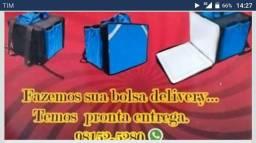 Bolsa de entregador de pizza