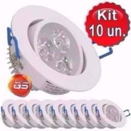 Kit spot led 3w