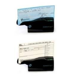 Leitor código de barras Boleto Bancários e Cheques HandbanK Eco Office 10 Nonus USB 400